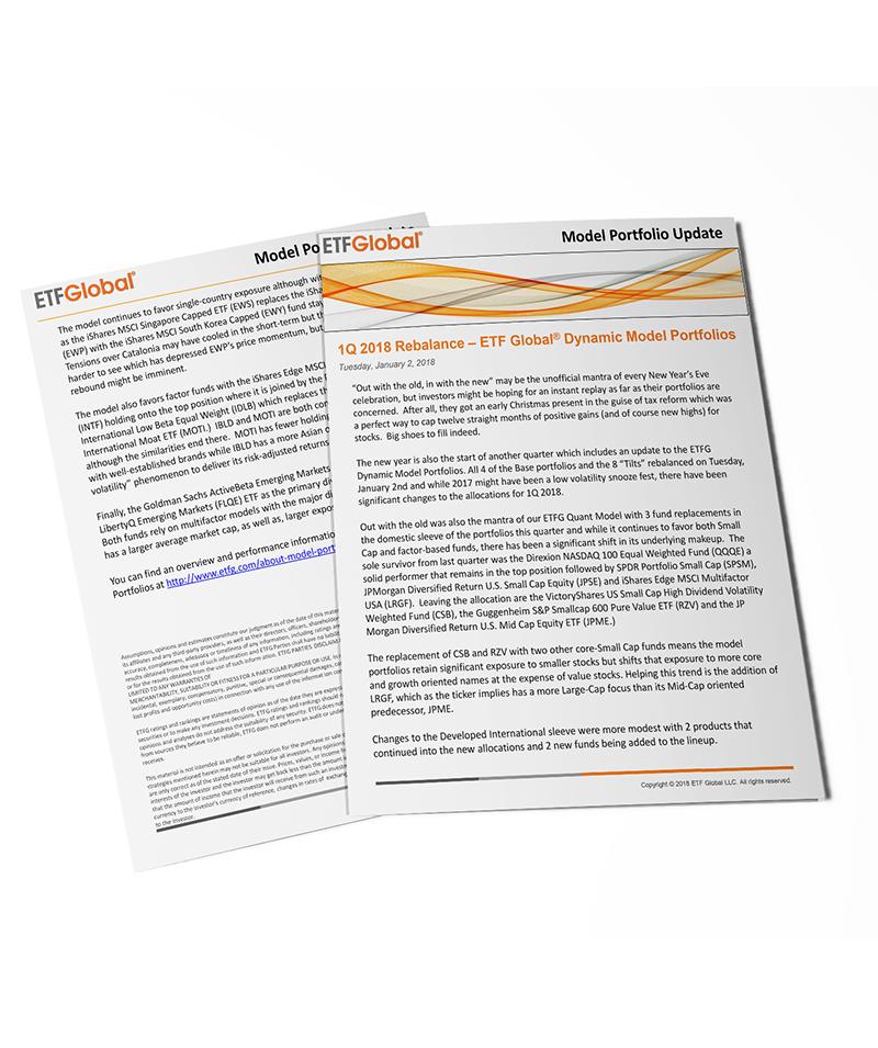 1Q 2018 Rebalance Commentary - ETF Global Dynamic Model Portfolios - 1.2.18